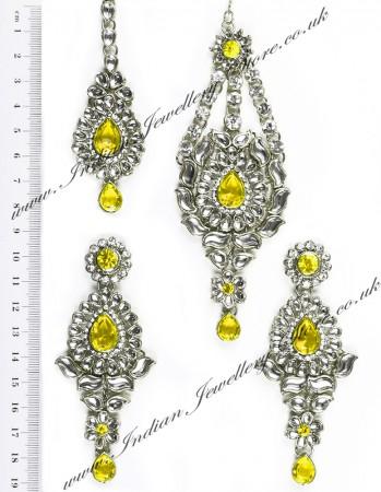 Rhumi Ear-Tikka-Passa Kundan ISYK04753