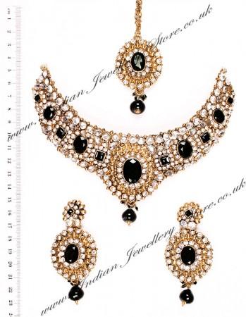 Lubna Indian necklace set NABK03918