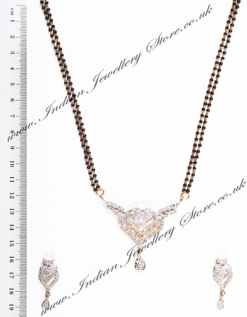 Love Heart Larger Mangalsutra Set MGWA04427