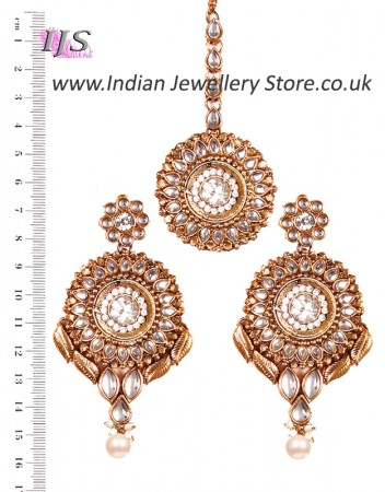 MASTI Earrings and Tikka IAWK02653