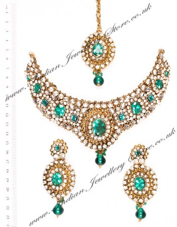 Lubna Indian necklace set NALK03923