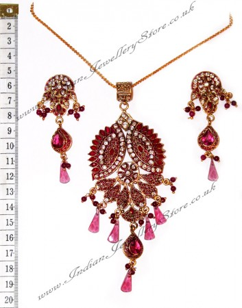 Fine Detailed Pendant Set NGPP0691