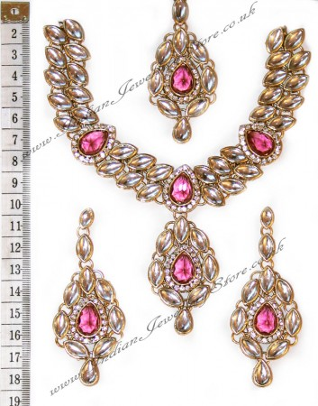 KUSHBOO Necklace Set  NGRK10529C
