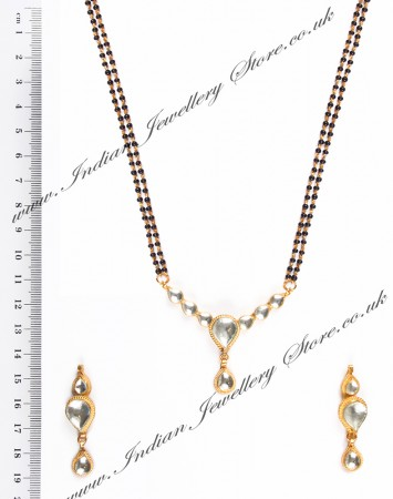 Kundan Wedding Mangalsutra Set MGWK04443