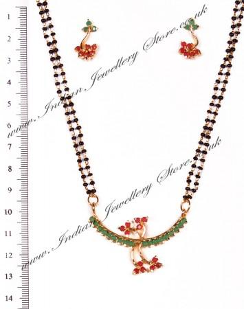 Coloured Mangalsutra Set MGAA03960