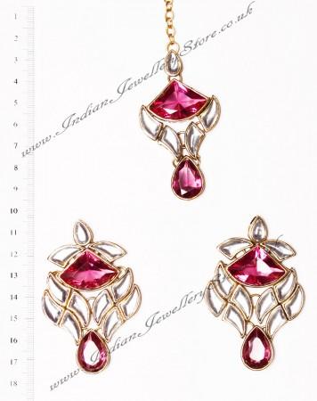 MADU Earrings and Tikka IGRK02650