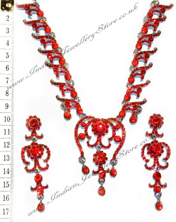 NIKI crystal necklace set NSRC1029