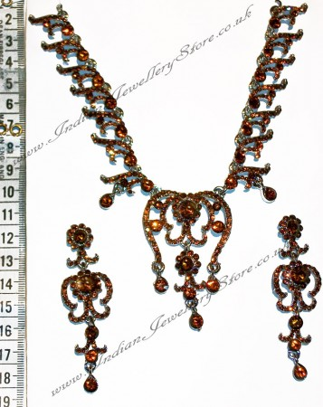NIKI crystal necklace set NSNC0825