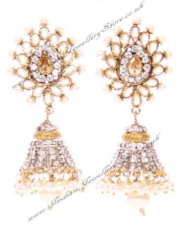 DIAH Jhumki Earring ESWA03049