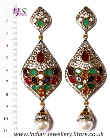 American Diamond Earrings ESMA02941