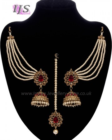 Indian Pearl Jewellery Set Online UK