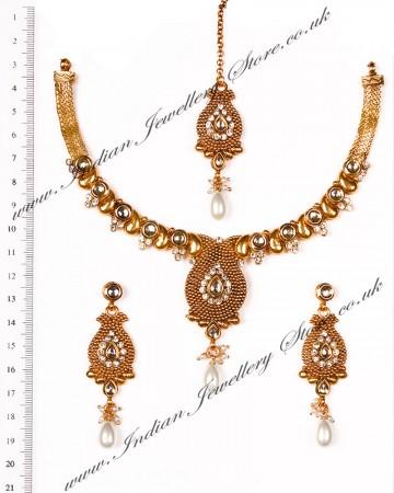 Indian Necklace Set NGWK03652