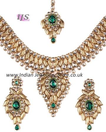 Statement Kundan Indian Necklace Set