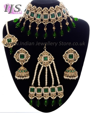 Purple Colour Asian Pakistani Indian Beautiful Wedding Jewellery Set Crystal Costume Jewellery Jewellery & Watches