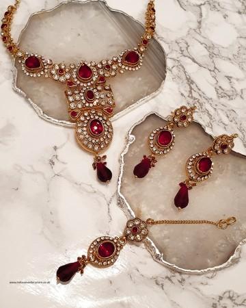 Anisha Necklace Set NGRC0364
