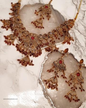 Flexible Antique Necklace Set NGNP02364