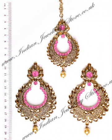 Arora Earrings & Tikka IAP010272