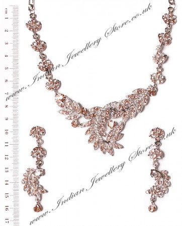 Crystal Necklace Set NSPC03840