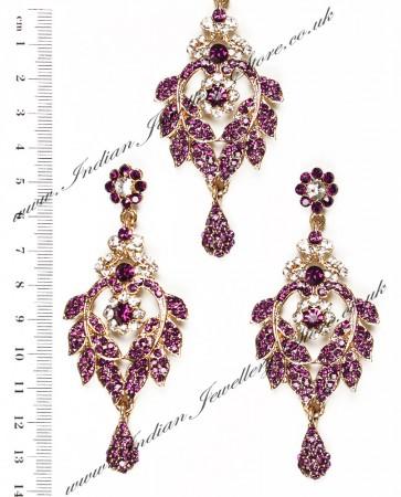 Yashi Earrings and Wider Tikka IAUC03783