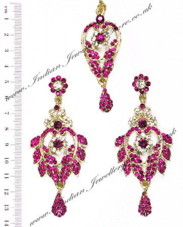 Yashi Earring and Slim Tikka IAPC04262