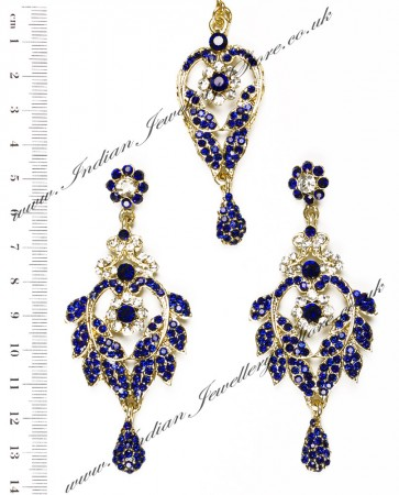 Yashi Earring and Slim Tikka IALC04263
