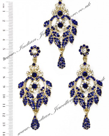 Yashi Earring and Wider Tikka IALC04264