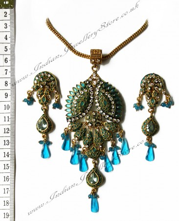 Fine Detailed Pendant Set NGNP0434
