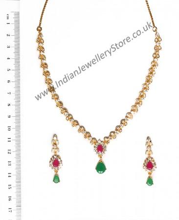Very Delicate Fine Necklace Set NEWA10565C