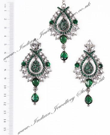 KIA Earrings and Tikka ISGC04088