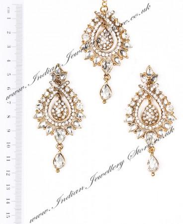 KIA Earrings and Tikka IAWC04092