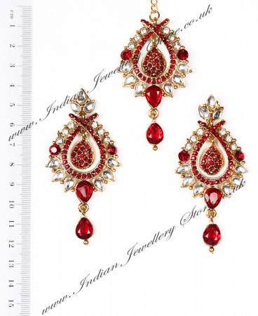 KIA Earrings and Tikka IARC04094