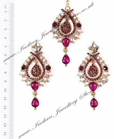 KIA Earrings and Tikka IAUC04096