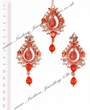KIA Earrings and Tikka IAOK04374