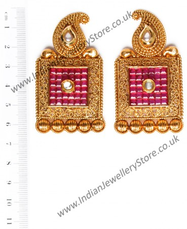 Large Square Studs EARA10403