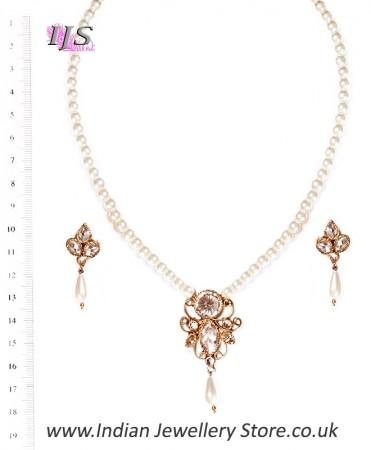 Delicate Indian Jewellery Set NAWA03202