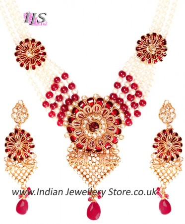 Rajasthani Indian Jewellery Set NGRA03203