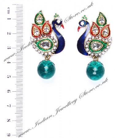 Peacock Indian Studs ESGA04315