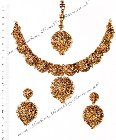 22k Effect Medium Necklace Set NGWA03169