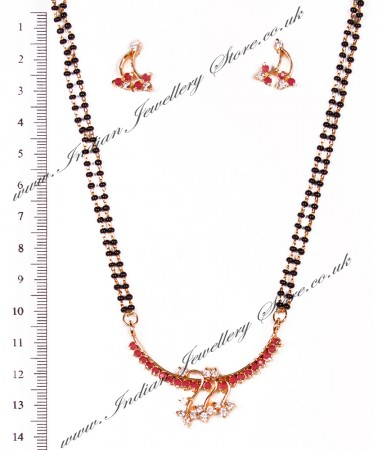 Coloured Mangalsutra Set MGRA03965