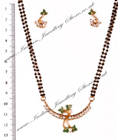 Coloured Mangalsutra Set MGGA03957