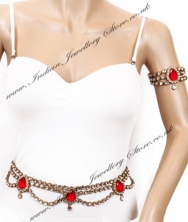 KAYA Saree Belt and Bajuband Set LARK04269
