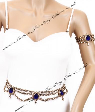 KAYA Saree Belt and Bajuband Set LALK04271