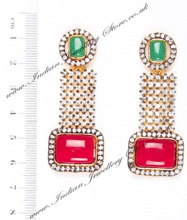 Ruhee Indian Earrings EAAA04302