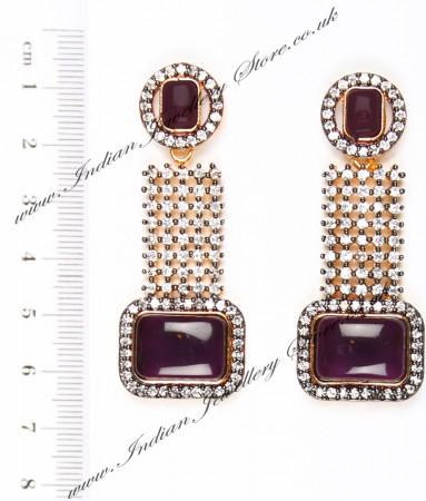 Ruhee Indian Earrings EAUA04304