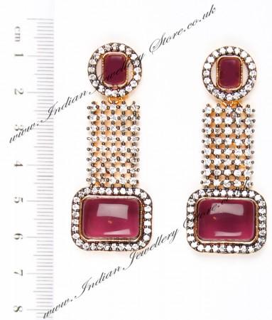 Ruhee Indian Earrings EAUA04305