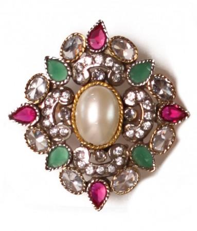 Large Mughal Ring RAMA03757