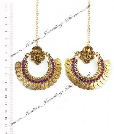 RAM LEELA Inspired Earrings EAUP04102