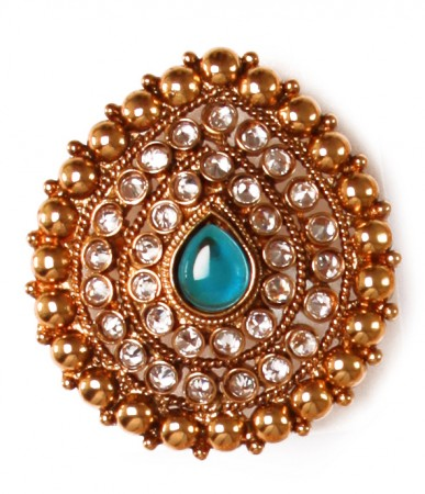 Large Rajasthani Ring RGLP03766