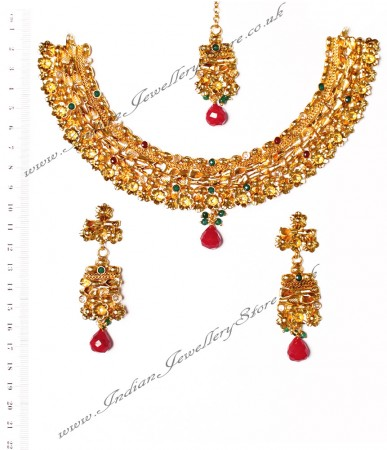 22k Effect Medium Necklace Set NGAA03167