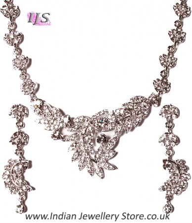 Crystal Necklace Set NSWC03838